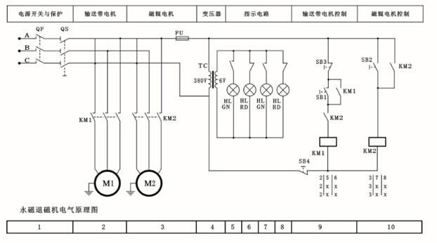 hz10组合开关接线图